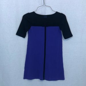GIRLS KIDS BLACK PURPLE DRESS